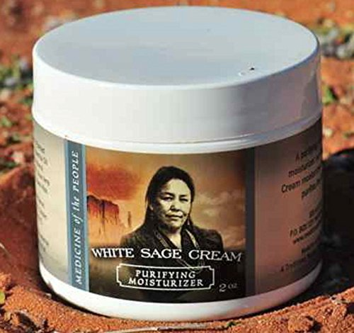 Navajo Medicine of the People White Sage Cream - Moisturizes and Purifies 2 OZ, Outstanding Product