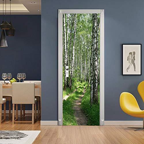 Moderne Design Tür Aufkleber Tapete Schokolade Klavier Pferd Selbstklebende Wohnzimmer Dekoration Wandkunst A19 77x200cm