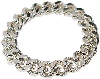 喜平チェーンリング(3) イブシなし6号 シルバー925 銀 指輪 リング メンズ レディース ユニセックス