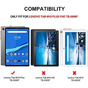 KuRoKo Slim Case Compatiable with Lenovo Tab M10 Plus TB-X606F/TB-X606X 10.3 Inch FHD Tablet 2020 Release