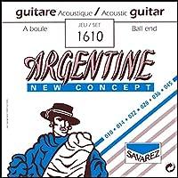 サバレス アコースティックギター弦 ジャズギター弦 ジプシーギター用 SAVAREZ ARGENTINE JAZZ STRINGS (1610 Ball End,Extra Light, 1セット)
