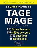 Le Grand Manuel du Tage Mage® 220 Fiches de Cours 110 Vidéos de Cours 1700 Questions 15 Tests Blancs