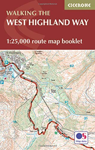 Marsh, T: West Highland Way Map Booklet (British Long Distance Trails)