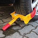 TRUTZHOLM Universal Radkralle Reifenkralle Parkkralle mit Sicherheitsschloss 17-27,5 cm Diebstahlsicherung Wegfahrsperre für PKW Wohnwagen Anhänger