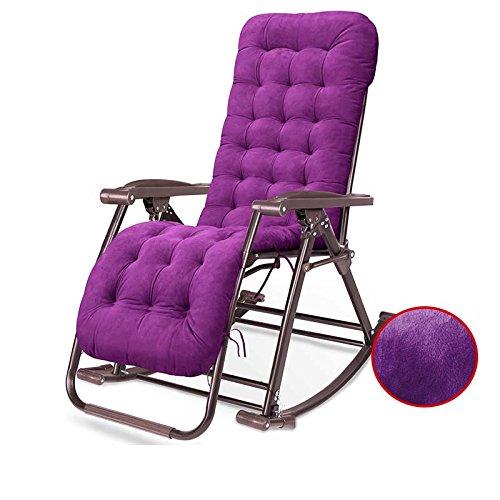 Bank balkon schommelstoel oude rieten stoel vouwen Happy middag ligstoelen (kleur optioneel) #4