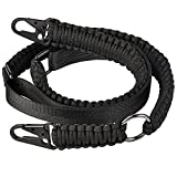 CVLIFE Two Point Sling 550 Paracord Traditional Sling Adjustable Strap with Eagle Hook