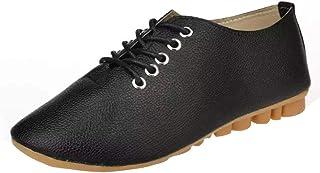 cbb3fbf8ae8 Zapatos de Plano de Cuero para Mujer Otoño Verano 2018 Moda PAOLIAN  Zapatillas de Vestir Mini
