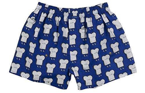 Lousy Livin Underwear Herren Boxershorts Toast royal Gr. S