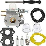 Dalom BC280 Carburetor w/Fuel Filter Primer Bulb Compatible with BC210 CC212 CS202 SS270 Trimmer Weed Eater Y25 Y60 Y2500 Y2550EC Y2700EC Y2900EC Brushcutter YM21CS YM71SS