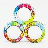 Droquimur | Anillos Magnéticos Fidget Spinner | 3 Unidades | Multicolor (Multicolor)
