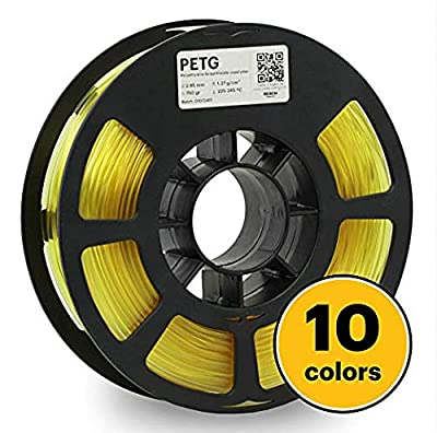 KODAK Tough PLA Pro 3D Printer Filament Light Yellow Color, 0.03 mm, 750g (1.6lbs) Spool 2.85 mm. Lowest Moisture Premium Filament in Vacuum Sealed Aluminum Ziploc. Fit Most FDM Printers