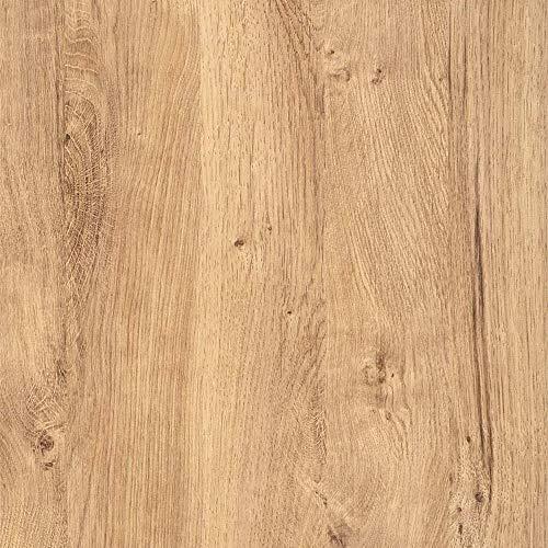 (7,40 €/m²) d-c-fix Verschiedene Holz-Optik Dekore/Maße Selbstklebende Folie Möbel Küche Tür Deko Klebefolie (Ribbeck Oak Eiche, 200 x 45cm)