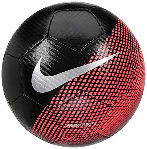 Nike CR7 Prestige Fußball, Black/Flash Crimson/Silver, 5