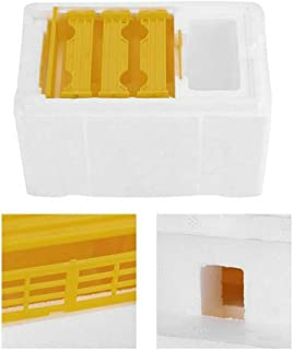Ciyoon 2019 Complete Hive Body Kit, Hive Box Harvest Beehive Pollination Beekeeping for Bee Mating Copulation, to Protect Bee Sting Capture Grip Beekeeping Accessory