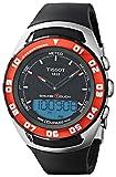 Tissot Sailing-TOU T0564202705100 - Reloj de Caballero de Cuarzo, Correa de Goma Color Negro