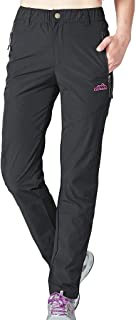 Geval Women's Outdoor Windproof Breathable Quick Dry Hiking Pants Lightweight Casual Pants