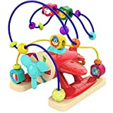 TOP BRIGHT Toddler Bead Maze for 1 Year Old Baby Activity Toy, Developmental