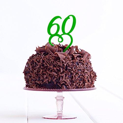 Directly Personalised 60 Anniversaire Âge Anniversaire de Mariage Acrylique gâteau