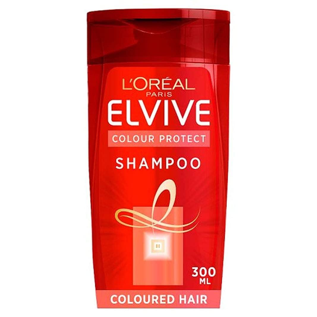 危険な相談鷹[Elvive] ロレアルのElviveの色は色の髪のシャンプー300ミリリットルを保護します - L'oreal Elvive Colour Protect Coloured Hair Shampoo 300Ml [並行輸入品]