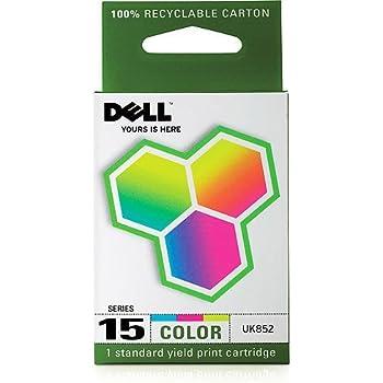 Dell Computer UK852 15 Standard Capacity Color Ink Cartridge for V105