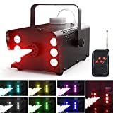 Best Fog Machines - Fog Machine, Theefun 6 LED Lights with 7 Review
