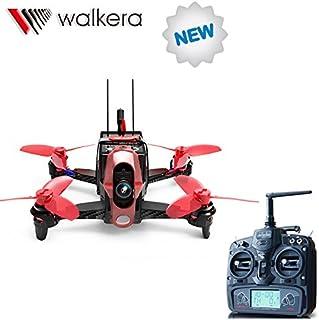 Walkera Rodeo 110 110 mm con mando a distancia DEVO 7 RC Racing Drone Quadcopter RTF con 600 TVL cargador de batería para cámara