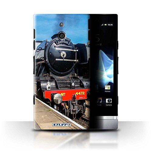 Var voor SXP-CC Stoomlocomotief Sony Xperia P/LT22i Scotsman/Platform