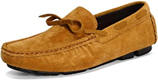 Men Casual Shoes Cow Suede Leather Men's Loafers Moccasin Driving Shoes
