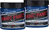 Manic Panic Atomic Turquoise Hair Dye – Classic High Voltage - (2PK) Semi-Permanent Hair Color - Vivid, Aqua Shade With Green Undertones - Vegan, PPD & Ammonia-Free - For Coloring Hair on Women & Men