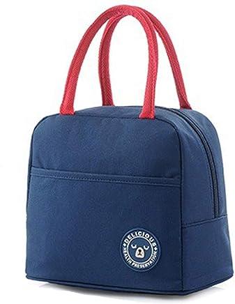 GJFeng Picknick Tasche Tasche Tasche Blau Wasserdichte Isolierung Oxford Tuch Tragbare Isolationsbeutel 23  14  20cm Praktisch (Farbe   Blau, größe   23  14  20cm) B07Q98W585   Öffnen Sie das Interesse und die Innovation Ihres Kindes, aber auch die Unschuld  2f828d