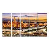 bilderfelix® Bild auf Leinwand Bangkok Thailand am Tempel
