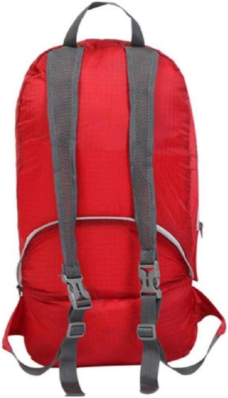 Lounayy Backpack Camping Outdoor Ruckscke Stylisch Sporttaschen Mode Daypacks Wandern Outdoor Klettern Rucksack 20L Kapazitt Portable Faltenden Rucksack Wasserdicht Mnner Und Frauen Universal Rucks