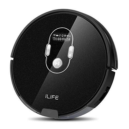 【Amazon.co.jp 限定】ILIFE A7 ロボット掃除機 計画式な清掃システム WiFi 対応 アプリ制御 多様な予約功...