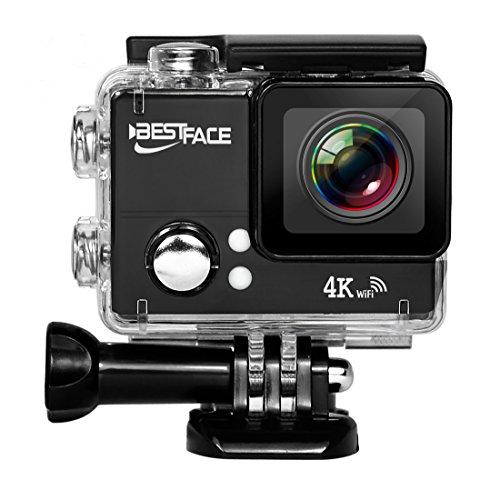 Bestface sport Action Camera 4K Ultra HD wifi HDMI 5,1cm schermo LCD impermeabile DV per outdoor Sporting
