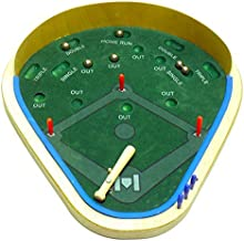 Action Baseball by Real Wood Games - Classic Desktop Baseball Game For 1 or 2 Players