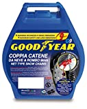 Goodyear 77915 'G9', Catene neve auto 9 mm, Misura 075,...