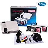 Game Consoles for TV, Mini Classic Game Console with Built-in 620 ,Video Game