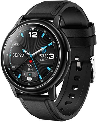 Reloj inteligente hombres 1 28 pantalla grande deportes pulsera reloj inteligente adecuado para Android IOS-A