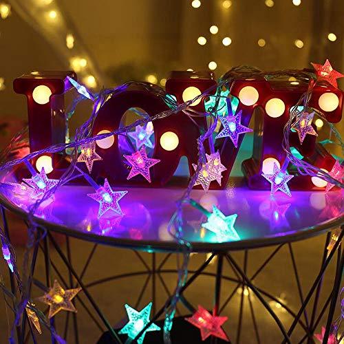 220 V/USB/batterij met LED-lampen, LED-lampen, kerstverlichting voor bruiloften, verlichte lichten 3 m 20 LED_wit