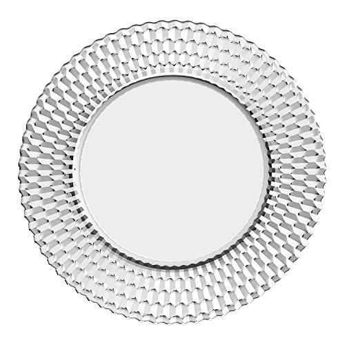 Villeroy & Boch Boston Sottopiatto, piatto da portata di lusso per la tavola addobbata a festa, cristallo, trasparente