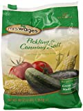Mrs. Wages Pickling and Canning Salt, 3 lbs (Pack of 6)