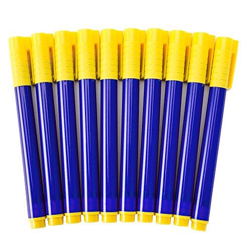 Lot de 10 stylos détecteur de faux billets