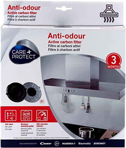 CARE + PROTECT Filtres à Charbon Actif Anti-Odeur Compatibles (233x33mm, 300gr, Type 048) 35602050