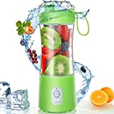 Portable Blender, Personal Size Blender Smoothies and Shakes USB Rechargeable Juicer Cup