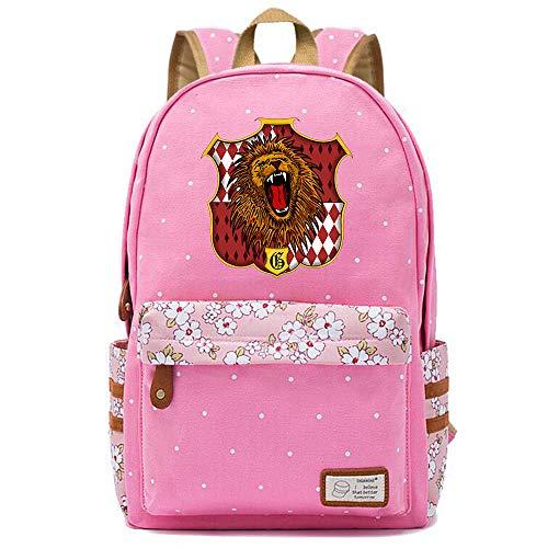 NYLY Ragazzi Canvas Daypacks Harry Potter Book Bag borsa spalla donna moda floreale zaino Medio S-11
