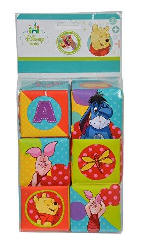Simba - 109331003 - Cubes pour Bébés - Winnie l'ourson