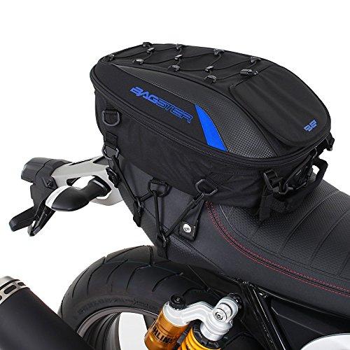 Motorrad Sozius Sitz Hecktasche Bagster Spider blau Kawasaki Z 1000 SX