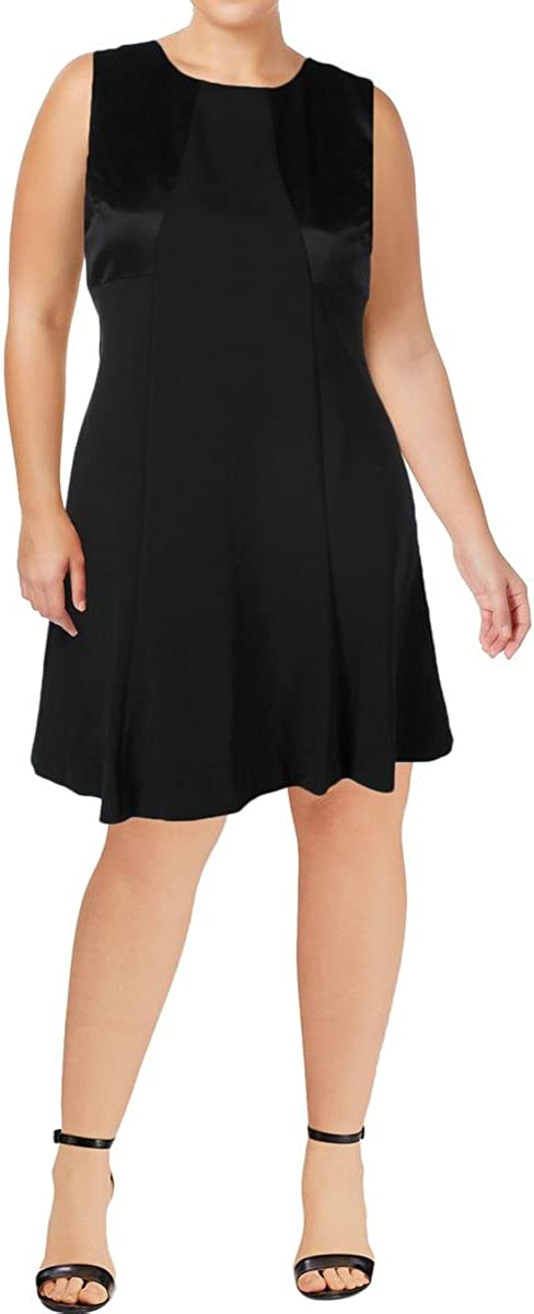 Lauren Ralph Lauren Women's Petite Bow-Back Jersey Dress