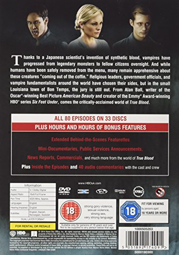 True Blood - Complete Season 1-7 [DVD] [2014]