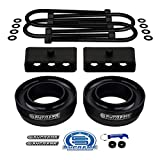Supreme Suspensions - 3' Front + 2' Rear Lift Kit for 2003-2013 Dodge Ram 2500 & 3500 2WD / 4' Axle | Spring Spacers + Lift Blocks + Round Bend U-Bolts